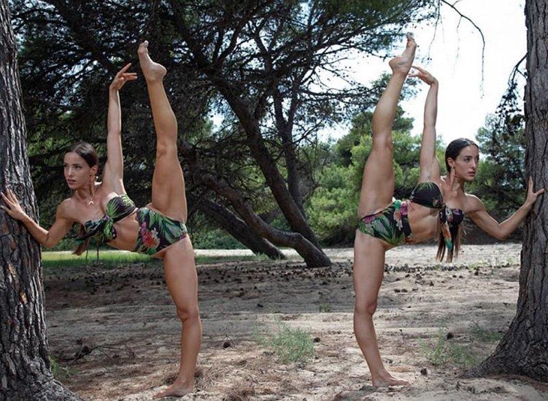 Οι δίδυμες Ελληνίδες χορεύτριες με τα εκπληκτικά ανοίγματα – News.gr